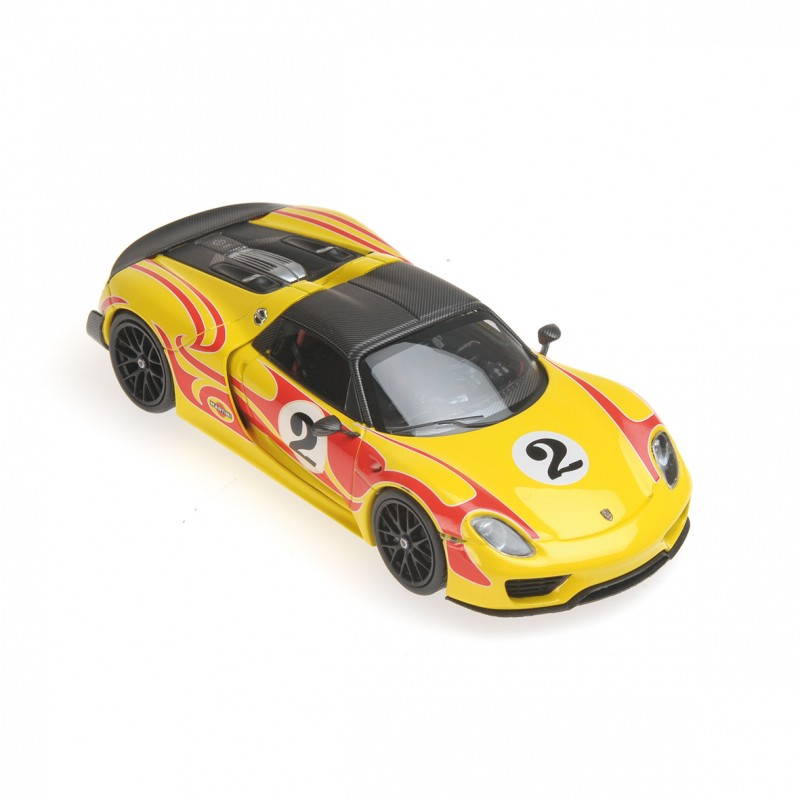porsche 918 spyder 2015 weissach package kyalami racing minichamps 410062134 miniatures minichamps. Black Bedroom Furniture Sets. Home Design Ideas