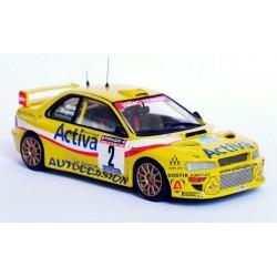 Subaru Impreza WRC 2000 2 Rallye de Wallonie 2003 Snijers Muth Trofeu R4B01