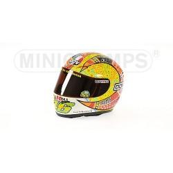 Casque 1/2 AGV Valentino Rossi Moto GP Philip Island 2007 Minichamps 327070096