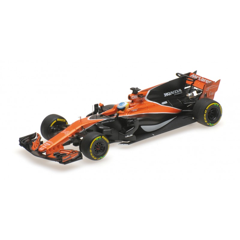 mclaren honda mcl32 f1 chine 2017 fernando alonso minichamps 537174314 miniatures minichamps. Black Bedroom Furniture Sets. Home Design Ideas