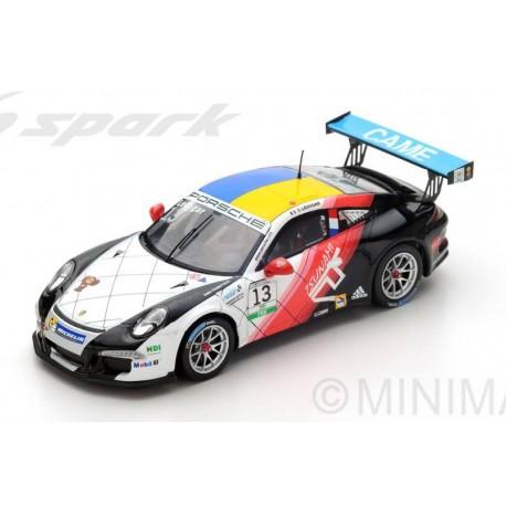 Porsche 991 GT3R 13 Champion Porsche Cup Italie 2016 Come Ledogar Spark SI005