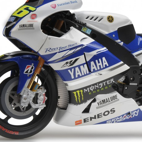 Yamaha YZR-M1 Moto GP Testbike 2014 Valentino Rossi Minichamps 122143946