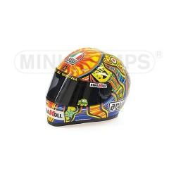 Casque 1/2 AGV Valentino Rossi Moto GP 2008 Minichamps 328080046