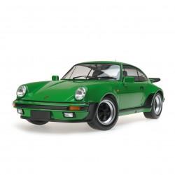 Porsche 911 Turbo 1977 Verte Minichamps 125066102