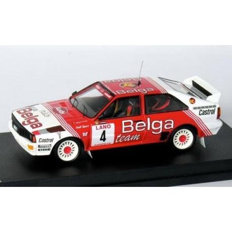 Audi Quattro 4 Rallye d'Ypres 1983 Duez Lux Trofeu R4B02