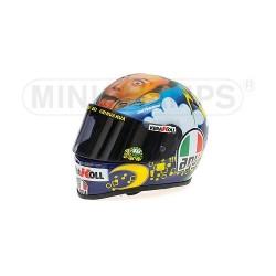 Casque 1/2 AGV Valentino Rossi Moto GP Mugello 2008 Minichamps 328080076