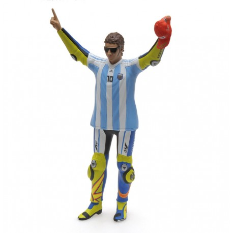 Figurine 1/12 Valentino Rossi Moto GP Argentine 2015 T-shirt Maradonna Minichamps 312150146