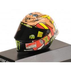 Casque 1/8 AGV Valentino Rossi Moto GP Misano 2012 Minichamps 398120096