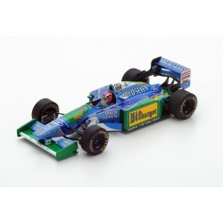 Benetton Ford B194 F1 1994 Johnny Herbert Spark S4484