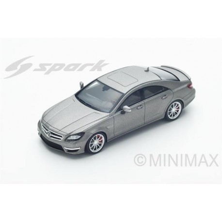 Mercedes CLS 63 AMG C218 2012 Silver Spark S4982