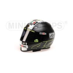 Casque 1/2 AGV Valentino Rossi WC Moto GP Motegi 2008 Minichamps 328080088