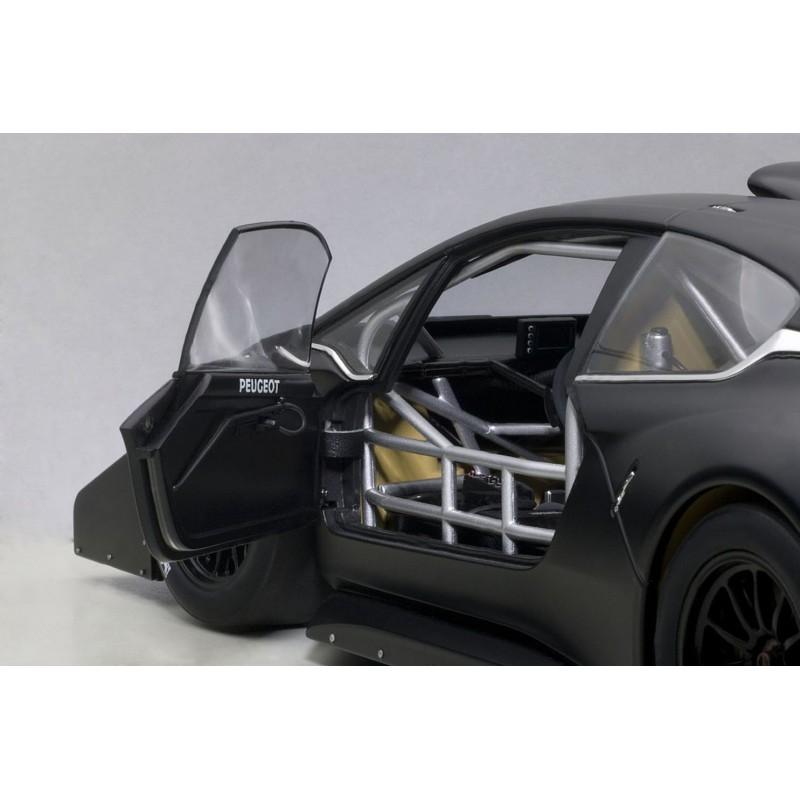peugeot 208 t16 pikes peak 2013 noire autoart 81356 miniatures minichamps. Black Bedroom Furniture Sets. Home Design Ideas
