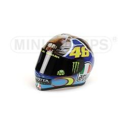 Casque 1/2 AGV Valentino Rossi Moto GP Misano 2009 Minichamps 328090056