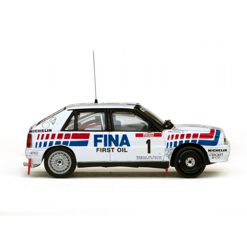lancia delta integrale 16v 1 rallye tour de corse 1991 auriol occelli vitesse 42420 miniatures. Black Bedroom Furniture Sets. Home Design Ideas
