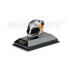 Casque 1/8 Arai Sebastian Vettel F1 Monza 2008 Minichamps 381080101