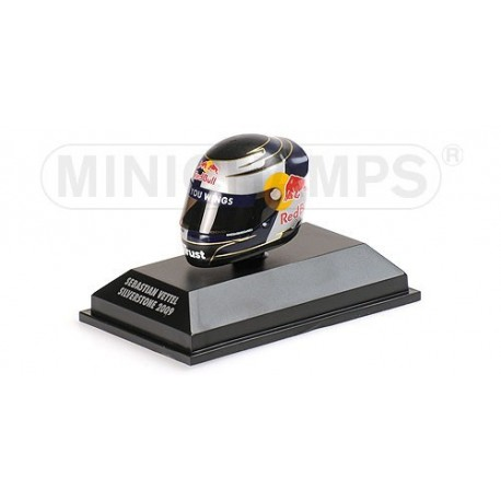 Casque 1/8 Arai Sebastian Vettel F1 Silverstone 2009 Minichamps 381090301