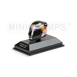Casque 1/8 Arai Sebastian Vettel F1 Suzuka 2009 Minichamps 381090401