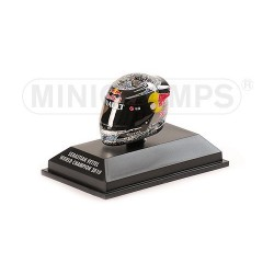 Casque 1/8 Arai Sebastian Vettel F1 Abu Dhabi 2010 Minichamps 381100105