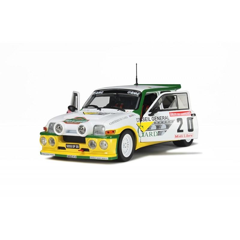 renault 5 maxi turbo 20 rallye de garrigues 1986 touren neyron solido 1850001 miniatures. Black Bedroom Furniture Sets. Home Design Ideas