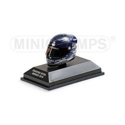 Casque 1/8 Arai Sebastian Vettel F1 Monaco 2010 Minichamps 381100205