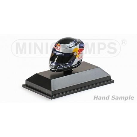 Casque 1/8 Arai Sebastian Vettel F1 Sepang 2010 Minichamps 381100405