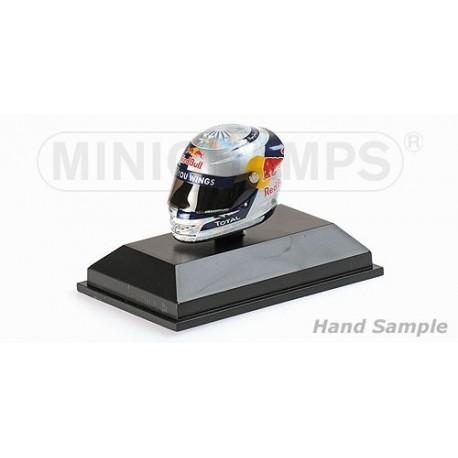 Casque 1/8 Arai Sebastian Vettel F1 Valencia 2010 Minichamps 381100505