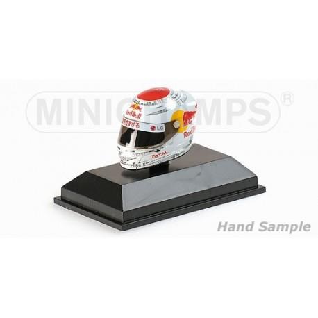 Casque 1/8 Arai Sebastian Vettel F1 Suzuka 2010 Minichamps 381100605