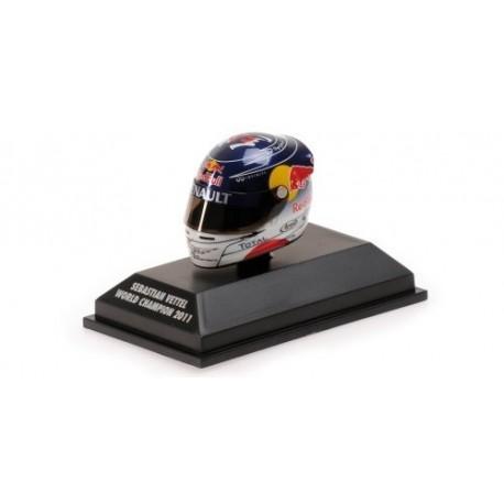 Casque 1/8 Arai Sebastian Vettel F1 Suzuka 2011 Minichamps 381110301