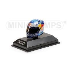 Casque 1/8 Arai Sebastian Vettel F1 Istanbul 2011 Minichamps 381110401