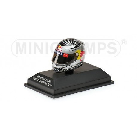 Casque 1/8 Arai Sebastian Vettel F1 Sao Paulo 2012 Minichamps 381120201