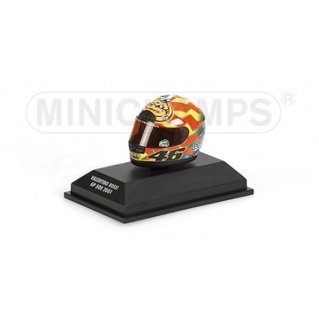 Casque 1/8 AGV Valentino Rossi GP 500 2001 Minichamps 397010046