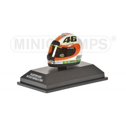 Casque 1/8 AGV Valentino Rossi Moto GP Mugello 2002 Minichamps 397020076