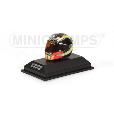 Casque 1/8 AGV Valentino Rossi Moto GP 2003 Minichamps 397030046