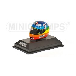 Casque 1/8 AGV Valentino Rossi Moto GP Winter Test 2003 Minichamps 397030099