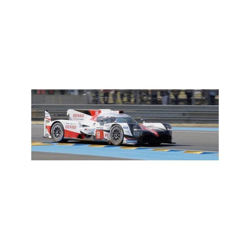 Toyota Ts050 Hybrid 9 24 Heures Du Mans 2017 Spark S5805 Miniatures Minichamps