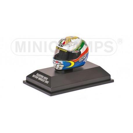 Casque 1/8 AGV Valentino Rossi Moto GP Mugello 2005 Minichamps 397050076