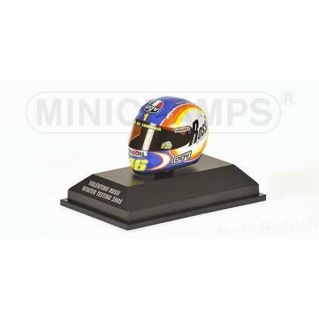 Casque 1/8 AGV Valentino Rossi Moto GP Essais 2005 Minichamps 397050099