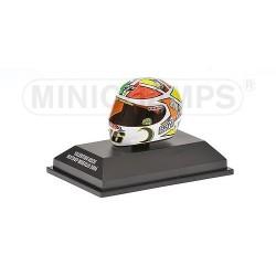 Casque 1/8 AGV Valentino Rossi Moto GP Mugello 2006 Minichamps 397060076