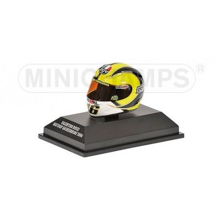 Casque 1/8 AGV Valentino Rossi Moto GP Sachsenring 2006 Minichamps 397060086