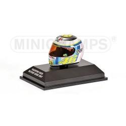 Casque 1/8 AGV Valentino Rossi Moto GP Assen 2007 Minichamps 397070066