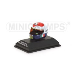 Casque 1/8 AGV Valentino Rossi Moto GP Mugello 2007 Minichamps 397070076