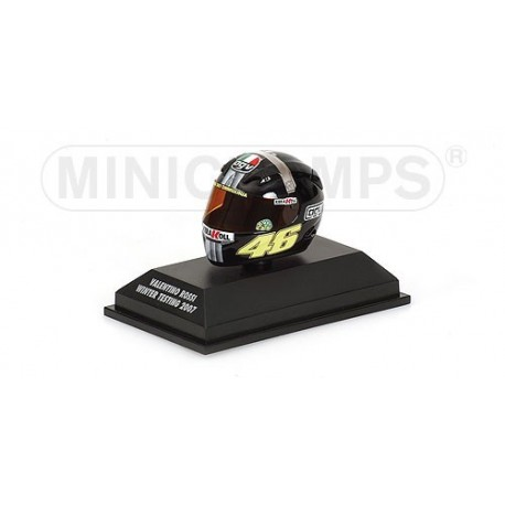 Casque 1/8 AGV Valentino Rossi MotoGP Test Jerez 2007 Minichamps 397079046
