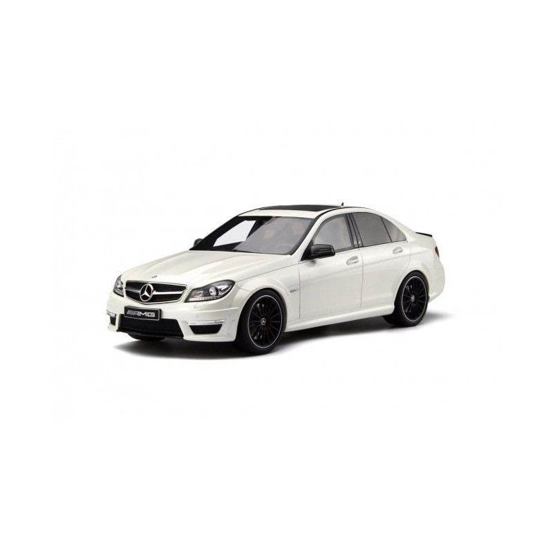 Mercedes benz c63 amg sedan w204 diamond white truescale for Mercedes benz family discount