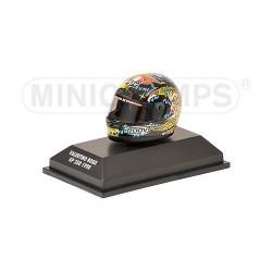 Casque 1/8 AGV Valentino Rossi GP 250 1998 Minichamps 397980046