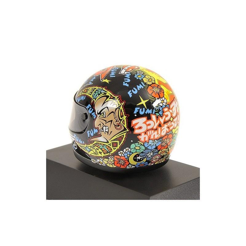 casque 1 8 agv valentino rossi gp 250 1998 minichamps 397980046 miniatures minichamps. Black Bedroom Furniture Sets. Home Design Ideas