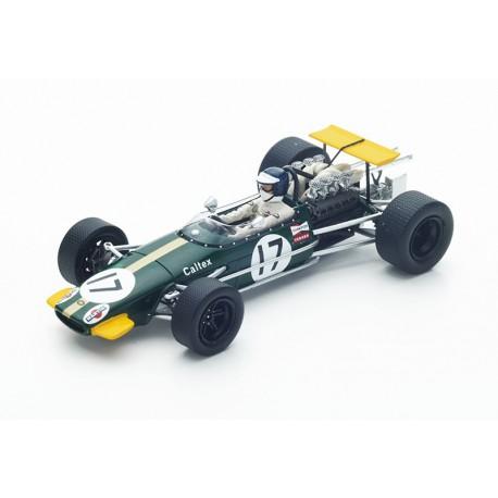 Brabham BT24 F1 Allemagne 1968 Kurt Ahrens Spark S4780