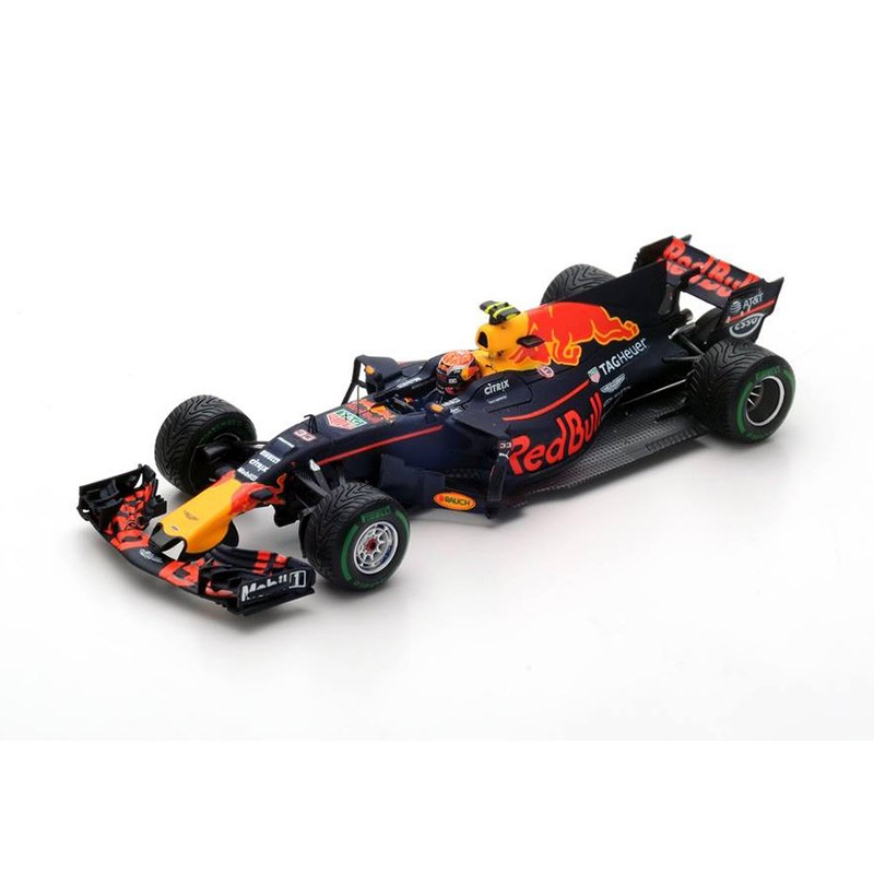 red bull tag heuer rb13 f1 chine 2017 max verstappen spark s5037 miniatures minichamps. Black Bedroom Furniture Sets. Home Design Ideas