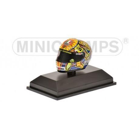 Casque 1/8 AGV Valentino Rossi MotoGP 2008 Minichamps 398080046
