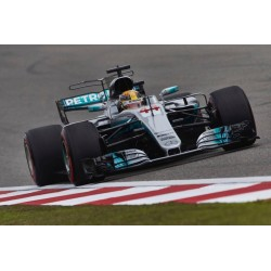 Mercedes AMG Petronas W08 EQ Power+ F1 Chine 2017 Lewis Hamilton Minichamps 117170244