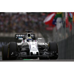 Williams Mercedes FW38 F1 Brésil 2016 Felipe Massa Minichamps 117160119